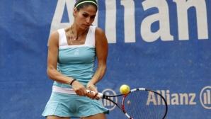 Шиникова се класира за четвъртфиналите в Лайпциг