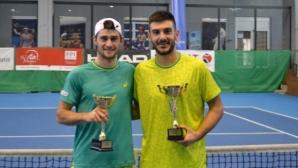 Донев и Милушев стигнаха финала на двойки в Нови Сад
