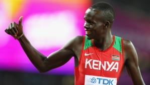 Наказаха медалист от Световното в Лондон