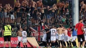 Луд купон в съблекалнята на Локомотив (Пд) след победата над Ботев (видео)