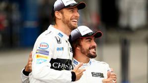 Алонсо е сериозен за евентуално завръщане във Ф1, според Бътън