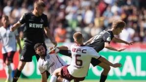 Кьолн вкара 9 гола на Динамо Берлин