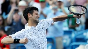 Златен! Джокович срази Федерер и грабна мечтаната титла (видео)