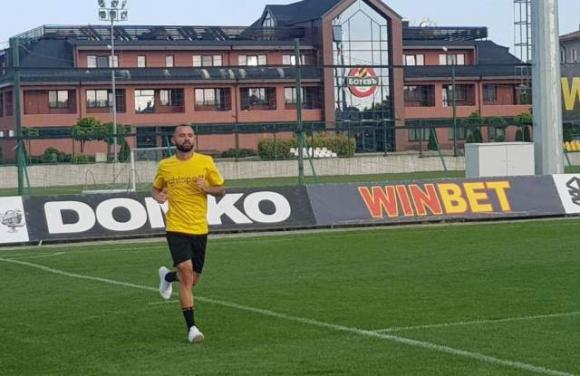 Новият бразилец на Ботев Пловдив вече тренира на Коматево
