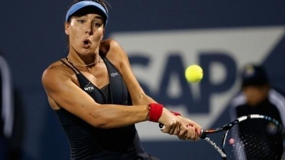 Французойка спря Елица Костова на US Open