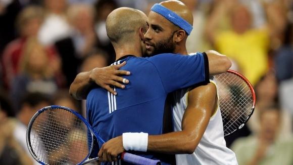 Поглед към миналото: Агаси vs. Блейк от US Open 2005