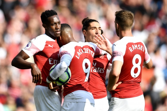 Емери изведе Арсенал до първа победа (видео)