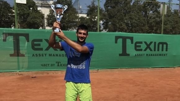 Пламен Милушев спечели две титли на турнир по тенис в София
