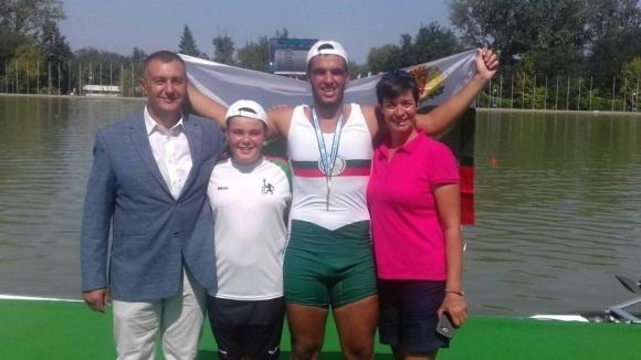 Седем медала за България от Балканиадата по гребане