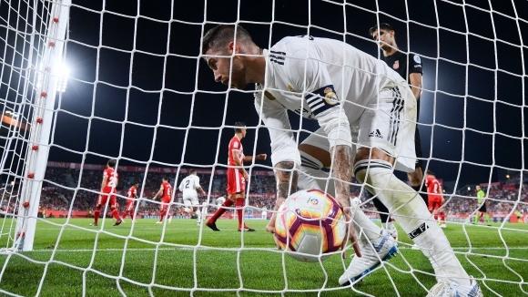 Реал Мадрид получи рана, след това разкъса каталунски съперник (видео+галерия)