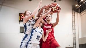 Момичетата до 16 г. се бориха, но не успяха да обърнат Словакия