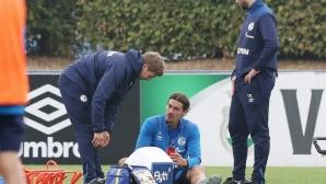Шалке остана без защитник за няколко седмици