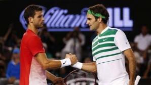 Григор Димитров: Федерер е най-великият
