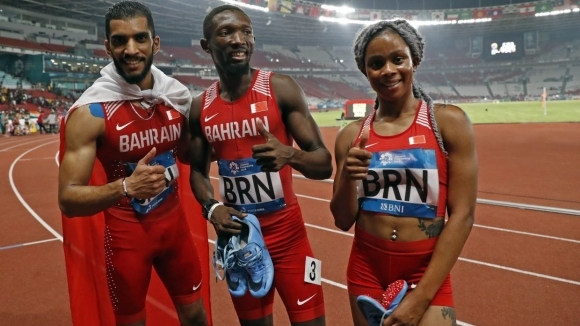 Бахрейн е първият шампион в смесената щафета 4х400м в Азиатските игри