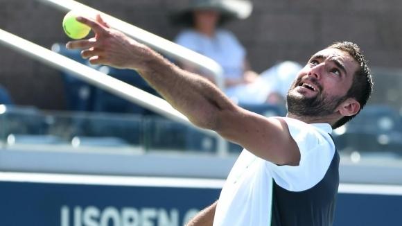 Чилич бе в беда, но извади късмет в първи кръг на US Open