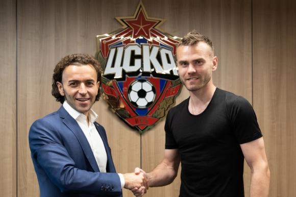 Акинфеев подписа нов договор с ЦСКА (М)