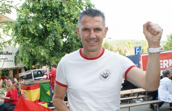 Петър Алексанров започна работа в Аарау