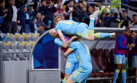 Астана влезе в групите с дузпи