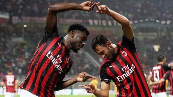 Милан покоси Рома в последната секунда в мач с два отменени гола (видео)