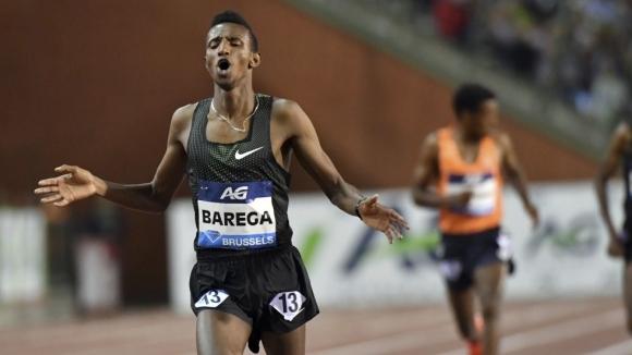 18-годишният Барега излезе на четвърто място във вечната ранглиста на 5000 метра