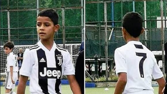 Синът на Кристиано наниза 4 гола в дебюта си за Юве
