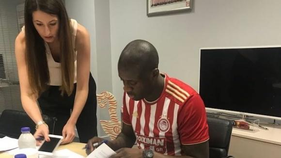 Туре Яя подписа с Олимпиакос