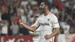 Лесна победа за Севиля, Гоналон с дебютен гол
