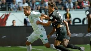 Вердер нокаутира Айнтрахт в 96-ата минута