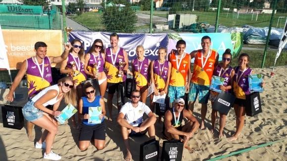 Стефан Торбов и Николай Тренчев стъпиха на върха в шампионския турнир от Beach Volley Mania