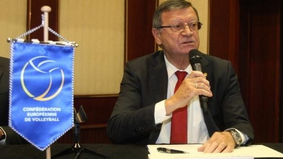 Вицепрезидентът на FIVB е уверен в успешното провеждане на Световното в България