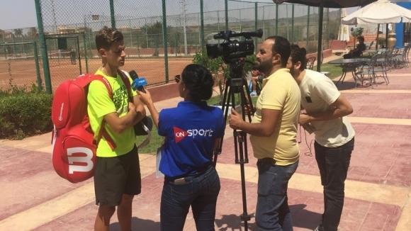 Симон-Антони Иванов впечатли медиите в Египет