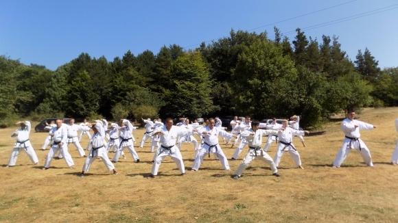 Главен инструктор на Международната японска карате асоциация проведе семинар у нас