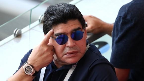 Марадона води преговори да поеме втородивизионен мексикански отбор