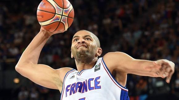 Франция обяви 15-те баскетболисти за мача срещу България в Ботевград