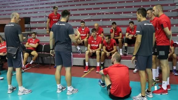 Националният отбор с ново попълнение (снимка)