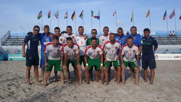 Националите по плажен футбол удариха Норвегия
