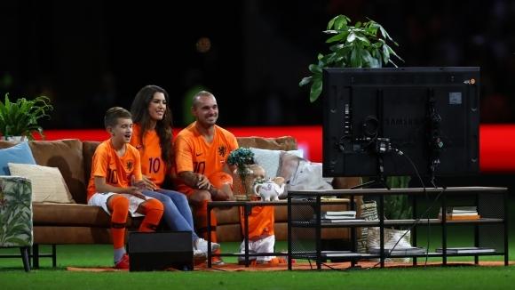 """Снайдер каза """"сбогом"""" на националния отбор на Холандия"""