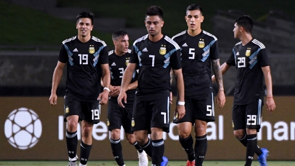 Аржентина с лесна победа над Гватемала (видео)