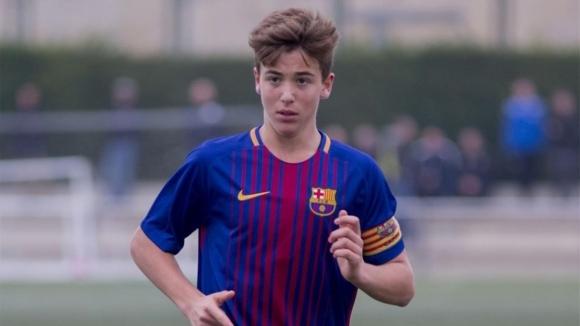 Нико Гонсалес: футбол във вените и ДНК на Барса