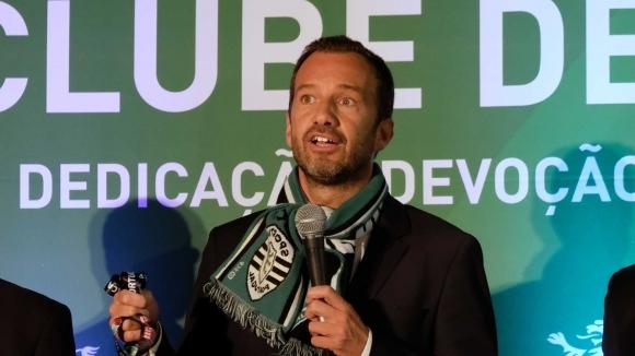 Бивш клубен доктор бе избран за президент на Спортинг Лисабон