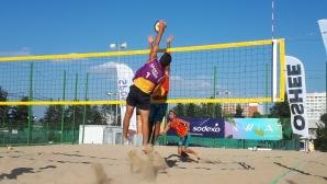 Торбов и Тренчев стъпиха на върха в шампионския турнир от Beach Volley Mania