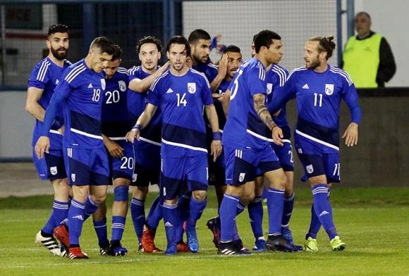 Кипър също се справи със Словения