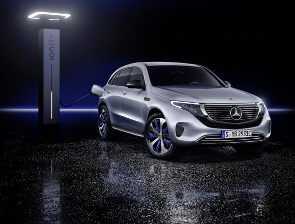 Mercedes-Benz EQC - първият изцяло електрически Mercedes-Benz (снимки)