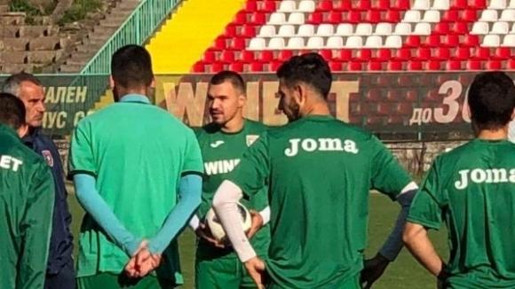 Божинов в Ботев (Враца) с договор за 3 месеца, започна тренировки (снимки)