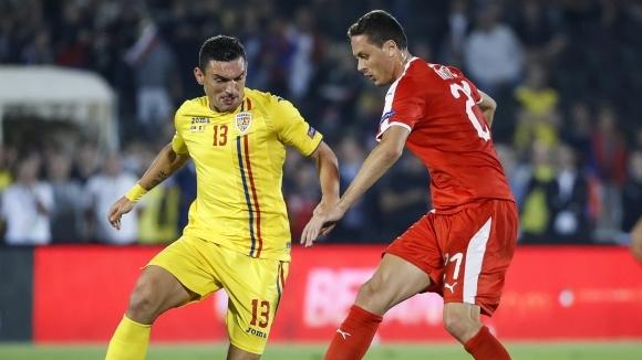 Сърбия и Румъния не се победиха в балканското дерби, Кешерю игра само 8 минути