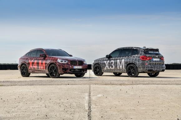 Първото официално представяне на предсерийните BMW X3 M и BMW X4 M
