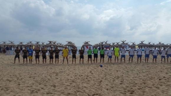България стана европейски шампион по плажен футбол за полицаи