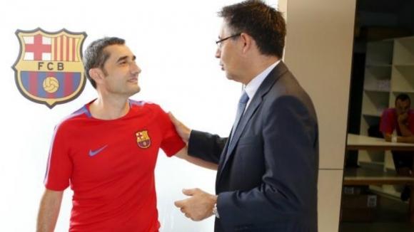 Валверде сяда за преговори с Барса през януари