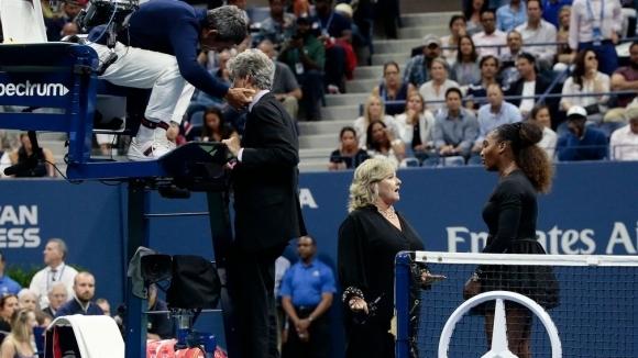 Скандалният съдия: Добре съм, въпреки случилото се на финала на US Open