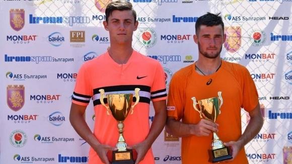 Открит урок по тенис с Александър Лазаров